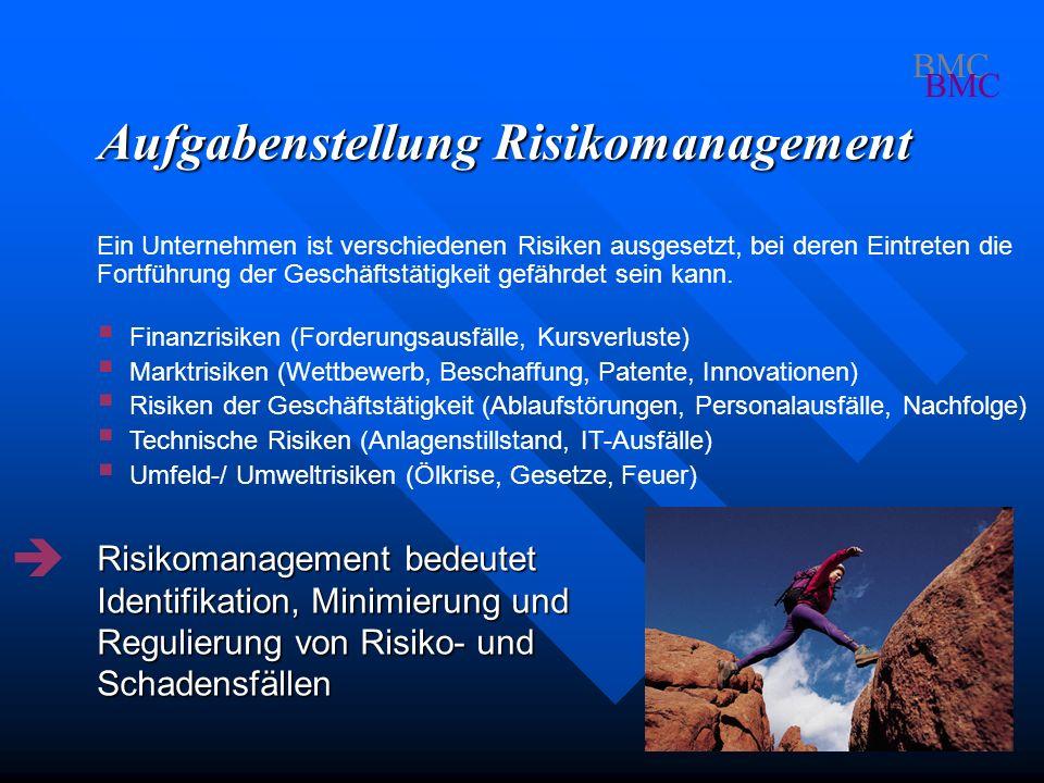 Aufgabenstellung Risikomanagement