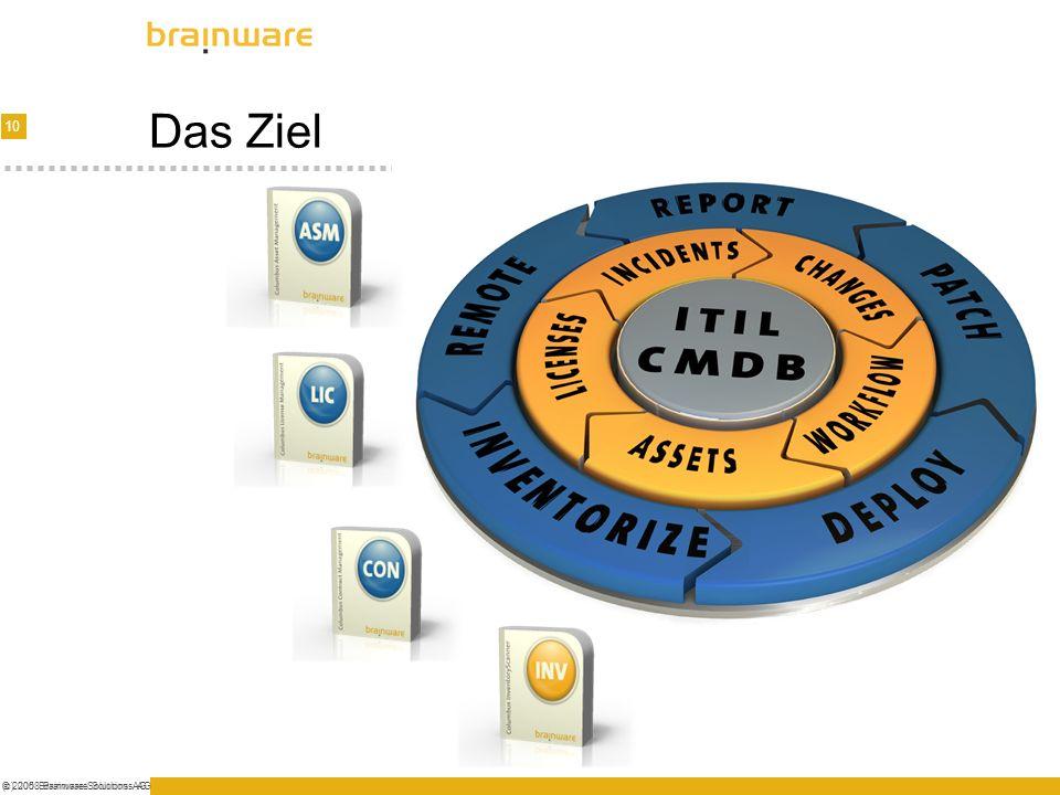 Das Ziel (c) 2008 Brainware Solutions AG © 2005 Brainware Solutions AG