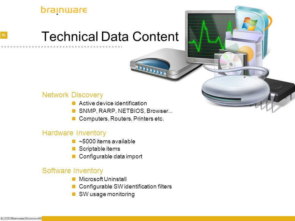 Technical Data Content