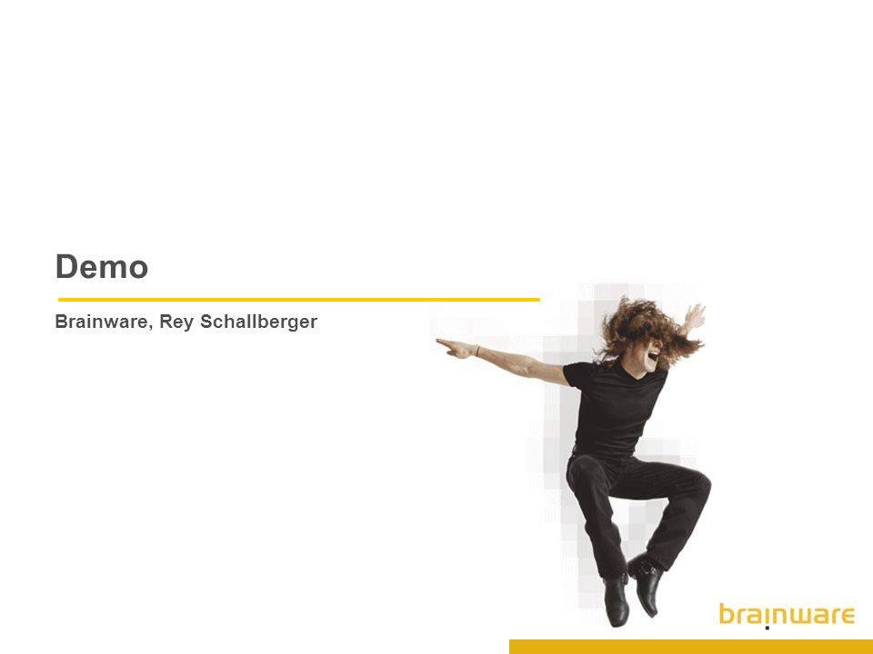 Demo Brainware, Rey Schallberger