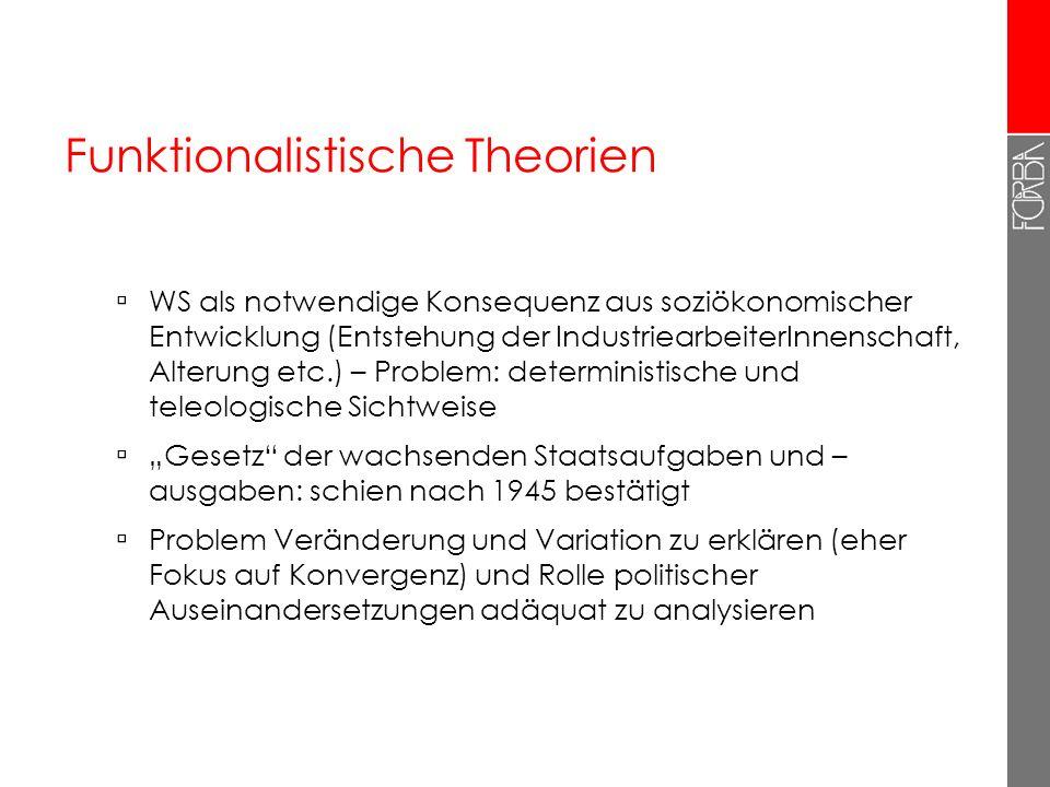 Funktionalistische Theorien