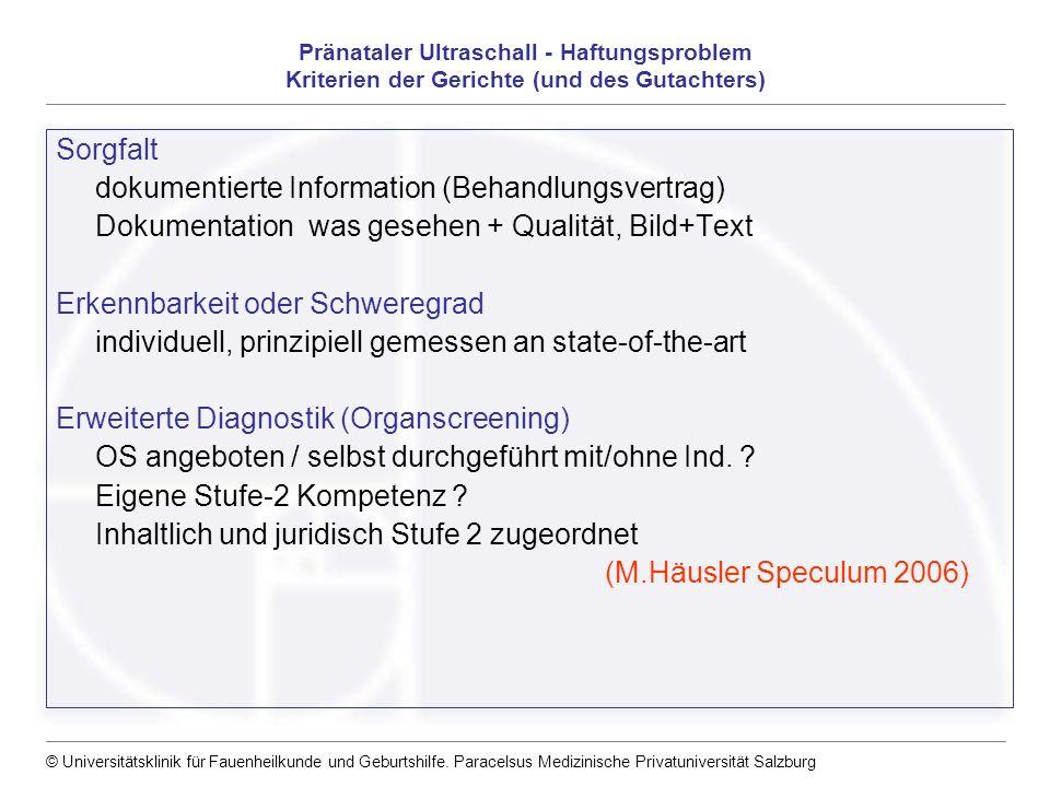 dokumentierte Information (Behandlungsvertrag)