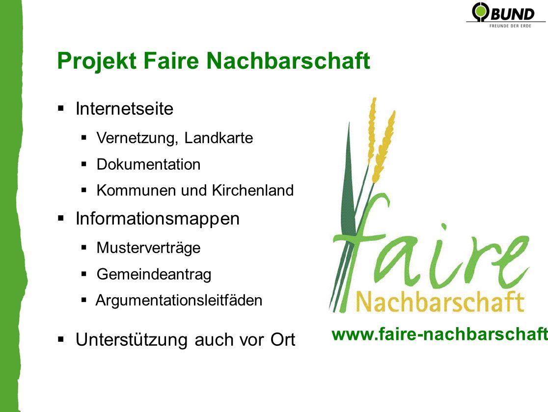 Projekt Faire Nachbarschaft