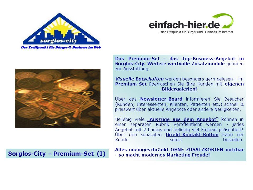 Sorglos-City - Premium-Set (I)