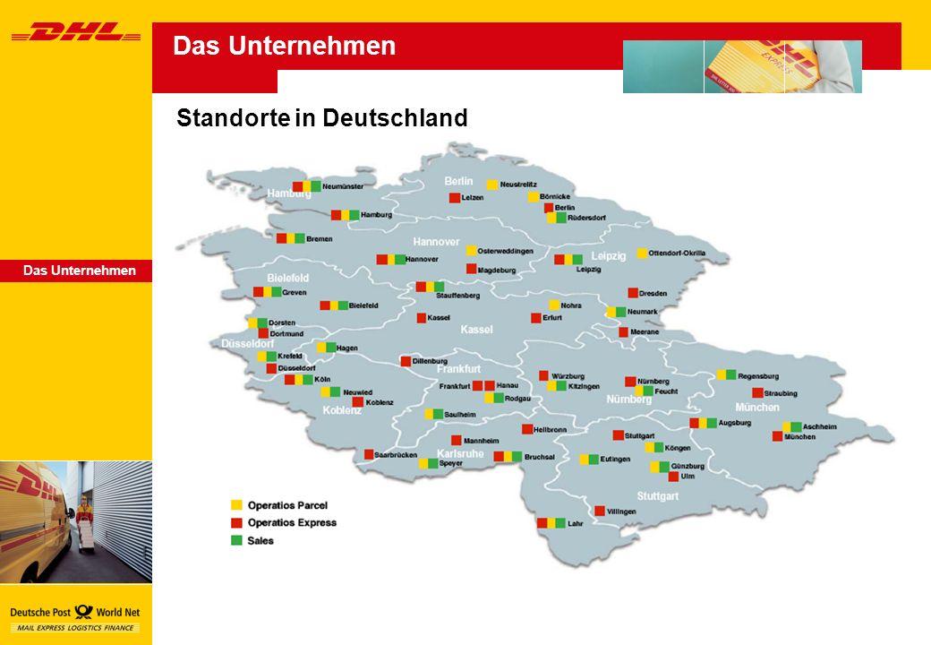 Das Unternehmen Standorte in Deutschland Das Unternehmen