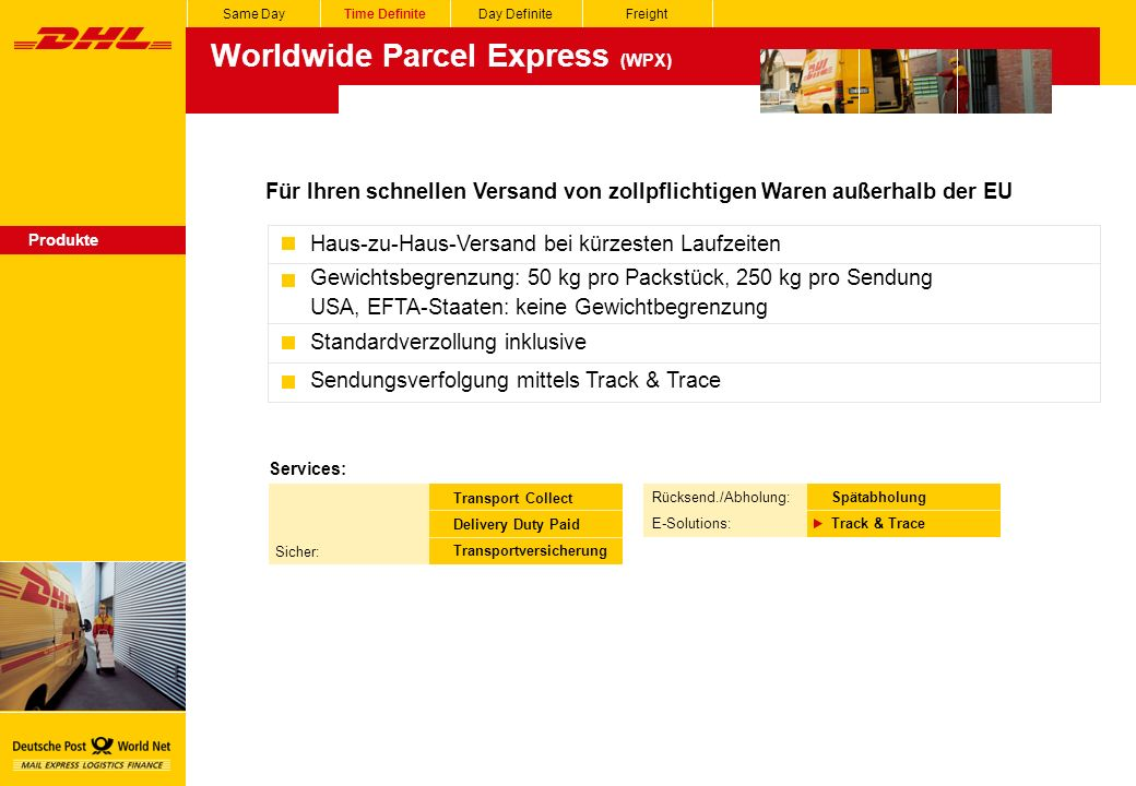 Worldwide Parcel Express (WPX)
