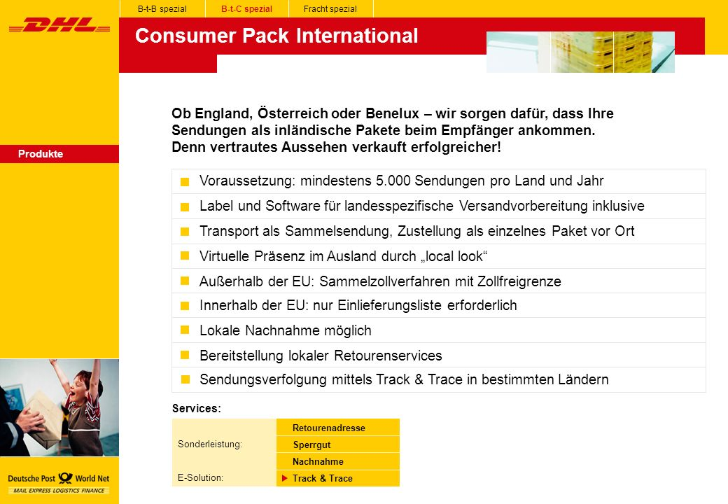 Consumer Pack International