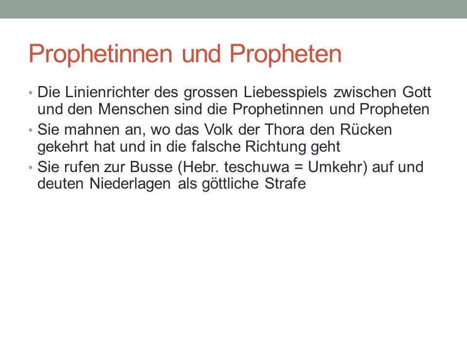 Prophetinnen und Propheten