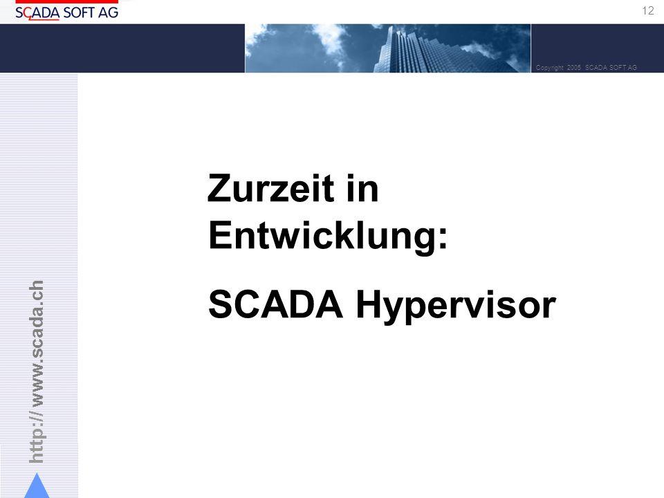Zurzeit in Entwicklung: SCADA Hypervisor