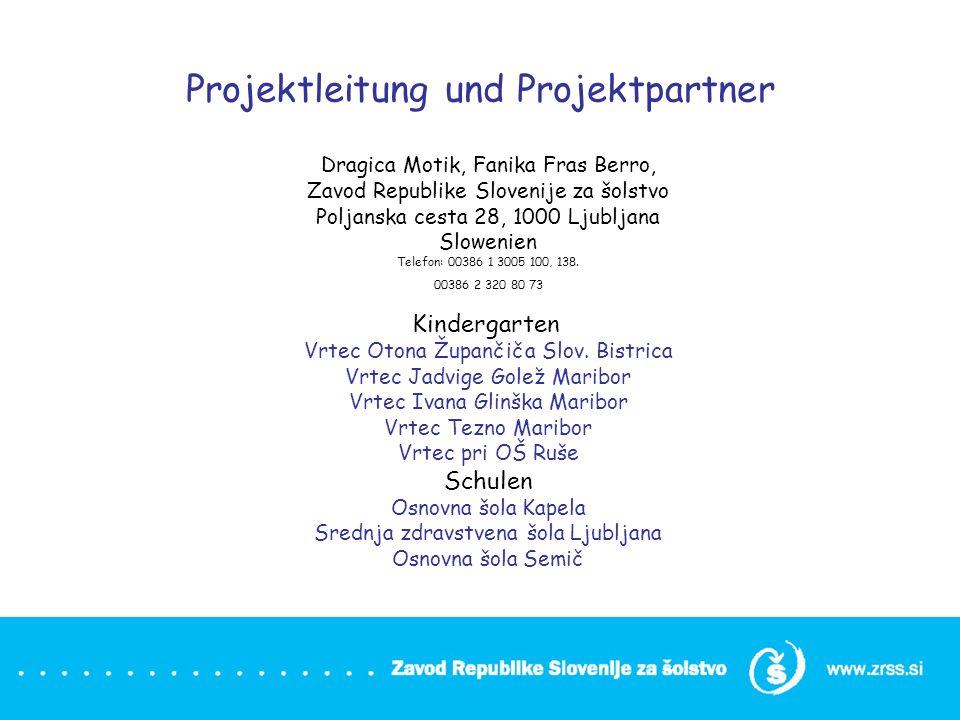 Projektleitung und Projektpartner