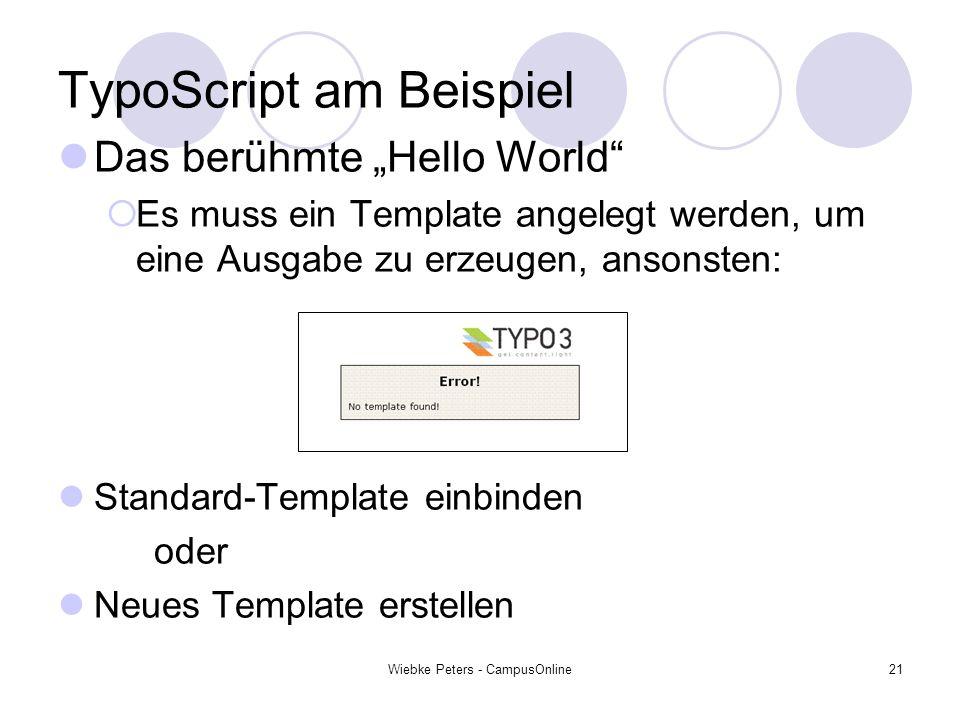 TypoScript am Beispiel