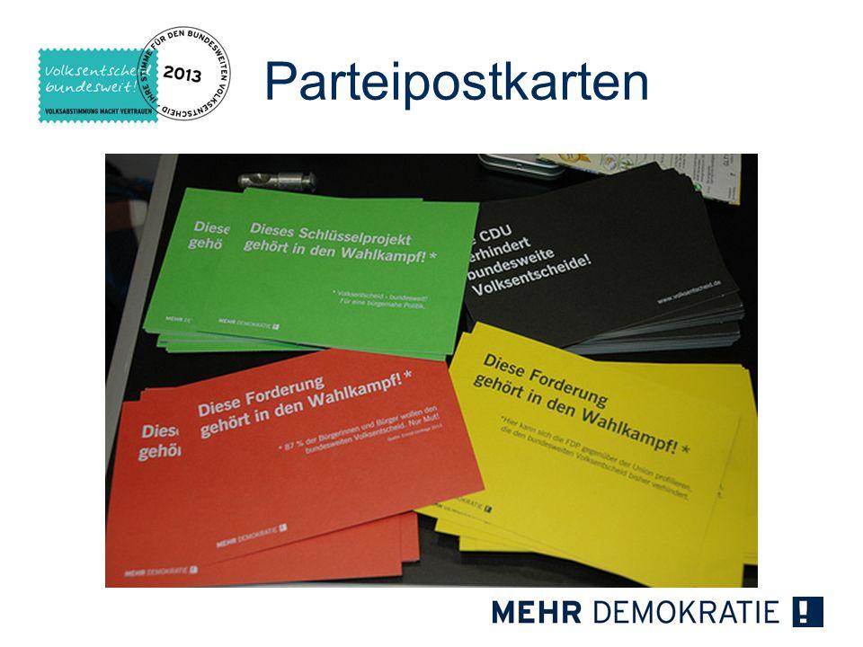 Parteipostkarten 18 18