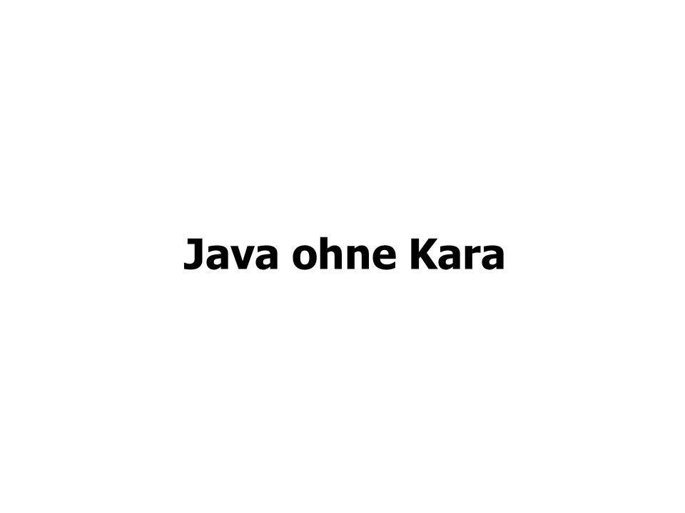 Java ohne Kara