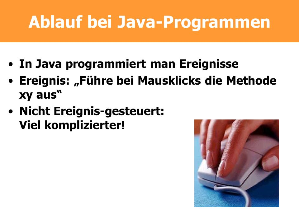 Ablauf bei Java-Programmen