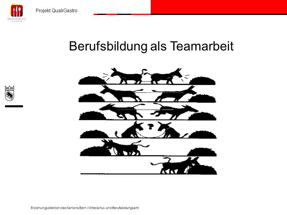 Berufsbildung als Teamarbeit