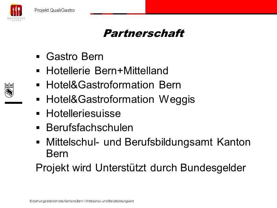Hotellerie Bern+Mittelland Hotel&Gastroformation Bern