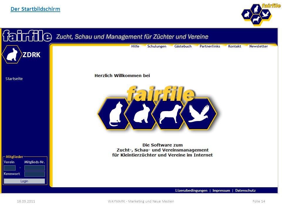 FAIRFILE - Zucht, Schau und Management für Züchter und Vereine