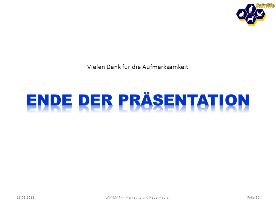WAYMARK - Marketing und Neue Medien