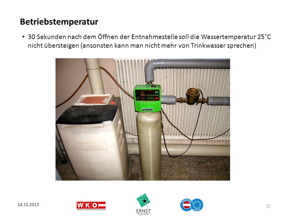 Betriebstemperatur