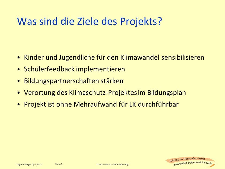 Was sind die Ziele des Projekts