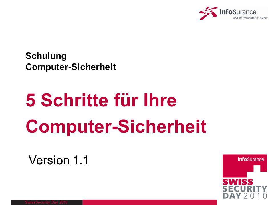 Schulung Computer-Sicherheit