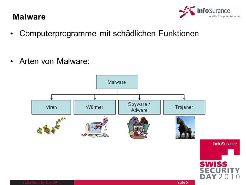 Computerprogramme mit schädlichen Funktionen