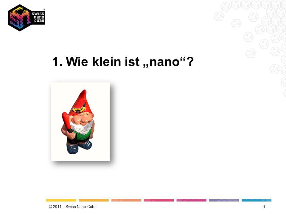 """1. Wie klein ist """"nano"""