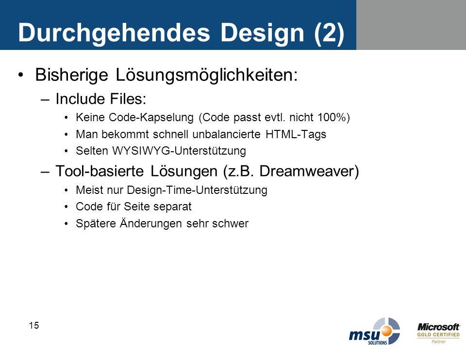 Durchgehendes Design (2)