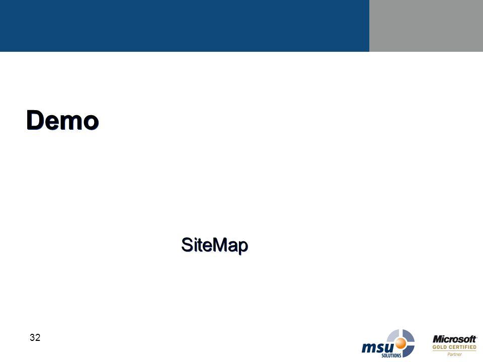 Demo SiteMap