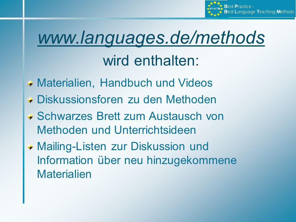 www.languages.de/methods wird enthalten: