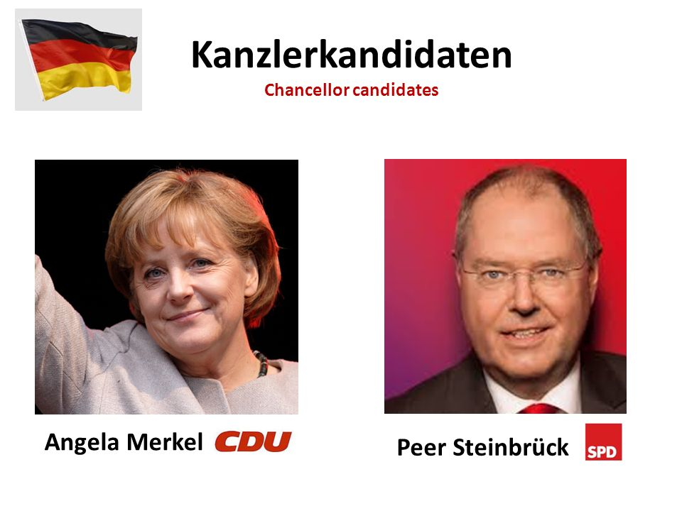 Chancellor candidates