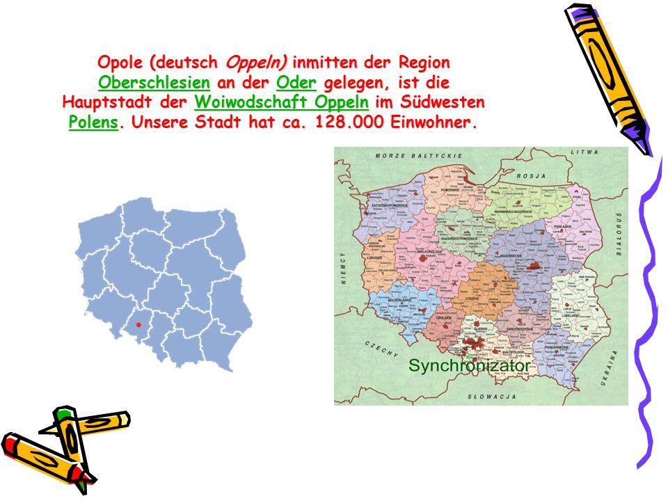 Opole (deutsch Oppeln) inmitten der Region Oberschlesien an der Oder gelegen, ist die Hauptstadt der Woiwodschaft Oppeln im Südwesten Polens.
