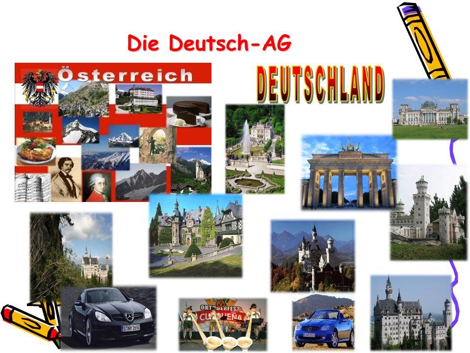 Die Deutsch-AG DEUTSCHLAND .