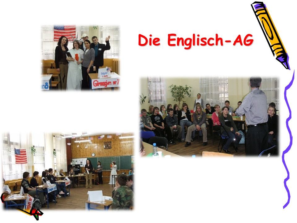 Die Englisch-AG