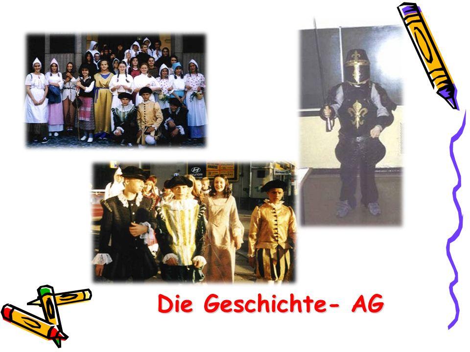 Die Geschichte- AG