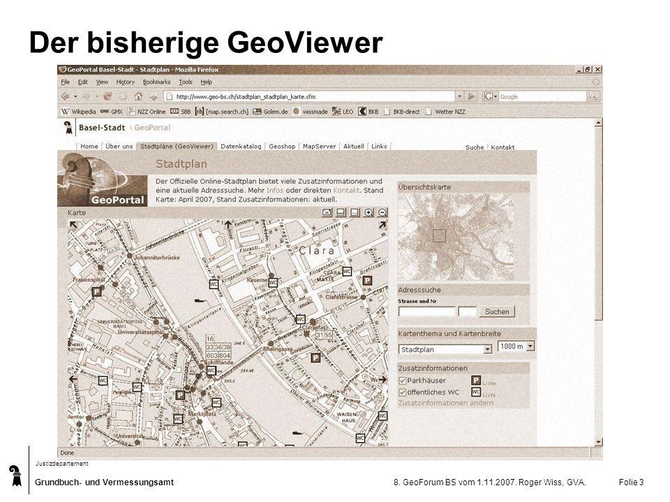 Der bisherige GeoViewer