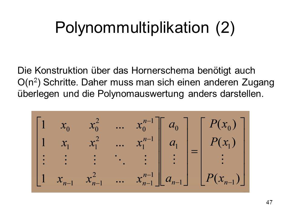 Polynommultiplikation (2)