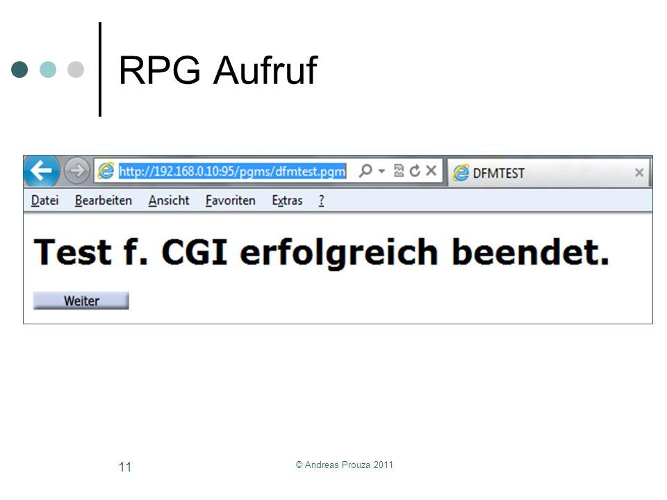 RPG Aufruf © Andreas Prouza 2011