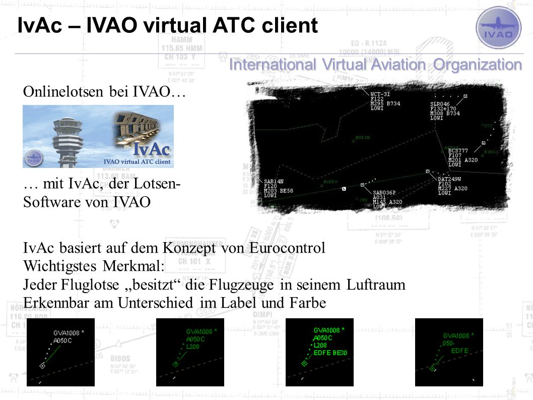 IvAc – IVAO virtual ATC client