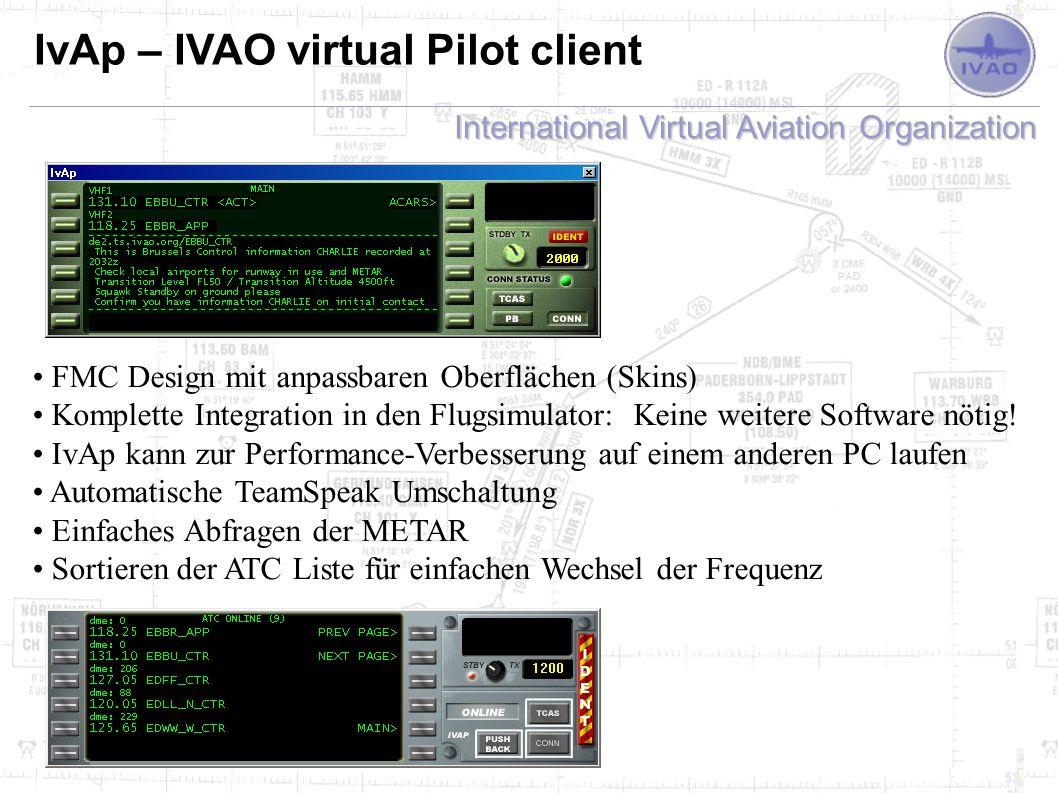 IvAp – IVAO virtual Pilot client