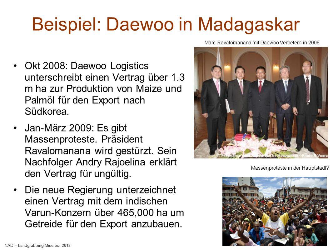 Beispiel: Daewoo in Madagaskar