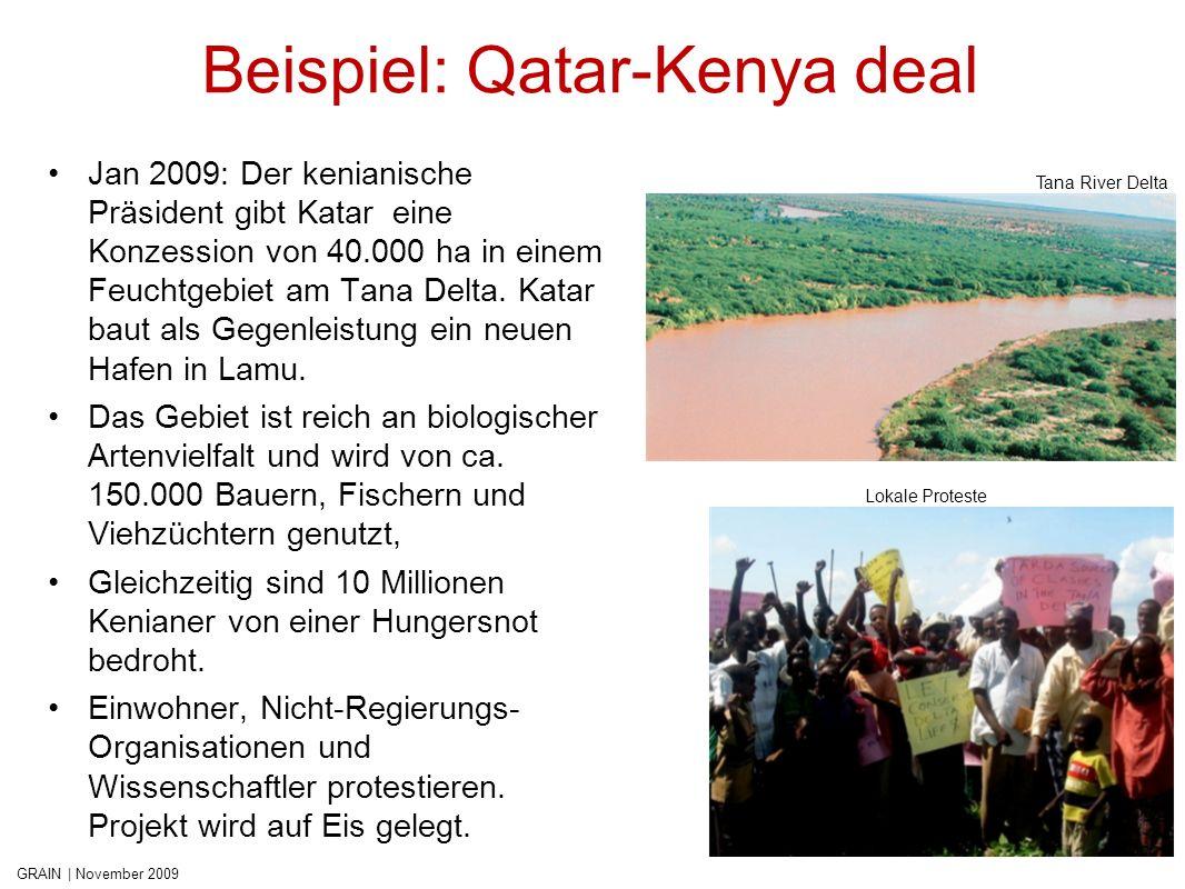 Beispiel: Qatar-Kenya deal