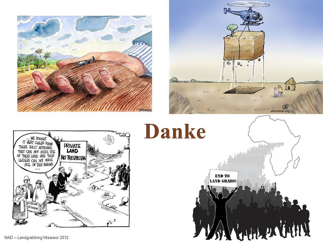 Danke NAD – Landgrabbing Misereor 2012