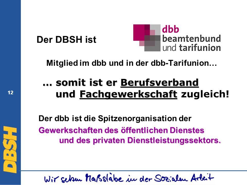 Mitglied im dbb und in der dbb-Tarifunion…