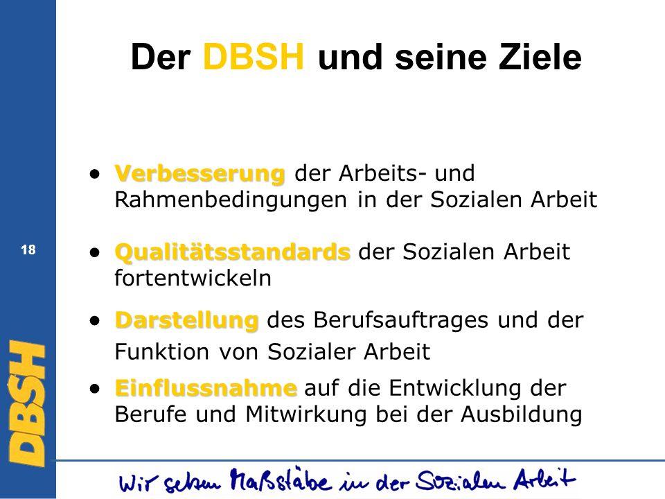 Der DBSH und seine Ziele