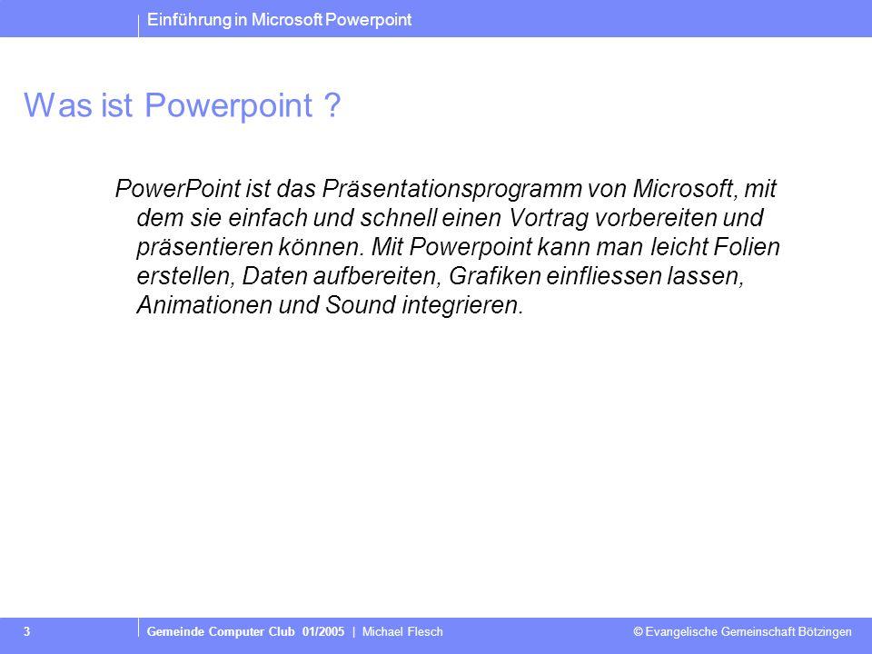 Was ist Powerpoint