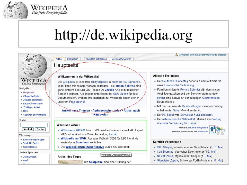 http://de.wikipedia.org