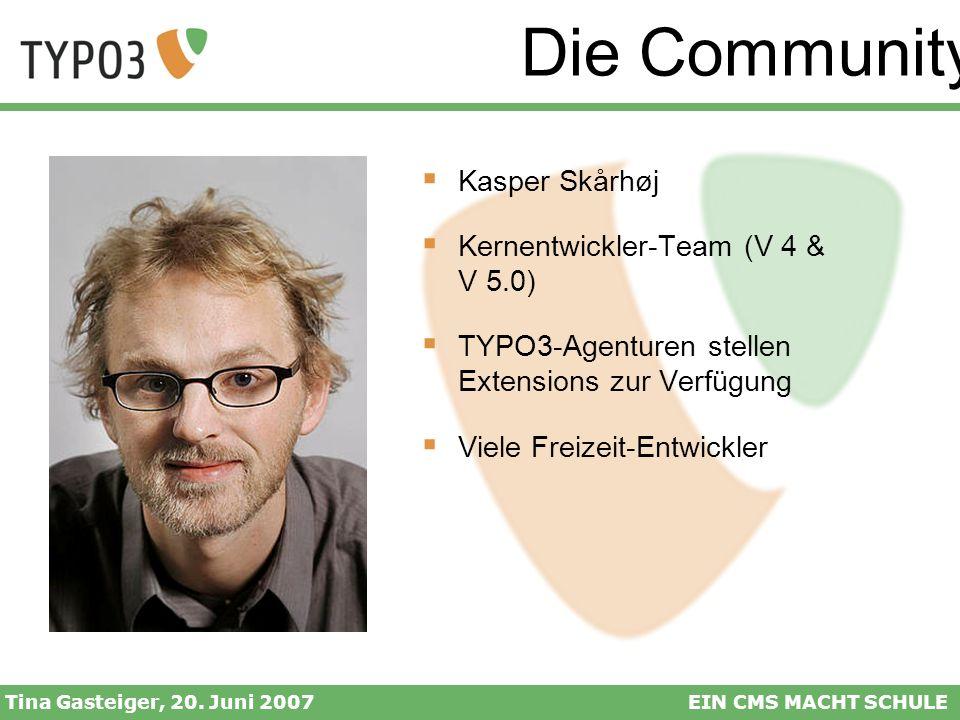 Die Community Kasper Skårhøj Kernentwickler-Team (V 4 & V 5.0)