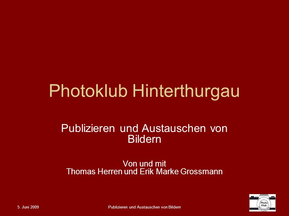 Photoklub Hinterthurgau