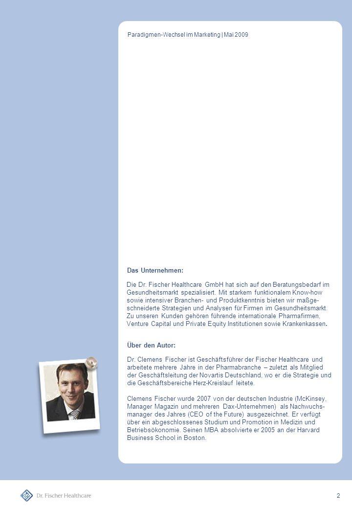 Paradigmen-Wechsel im Marketing | Mai 2009